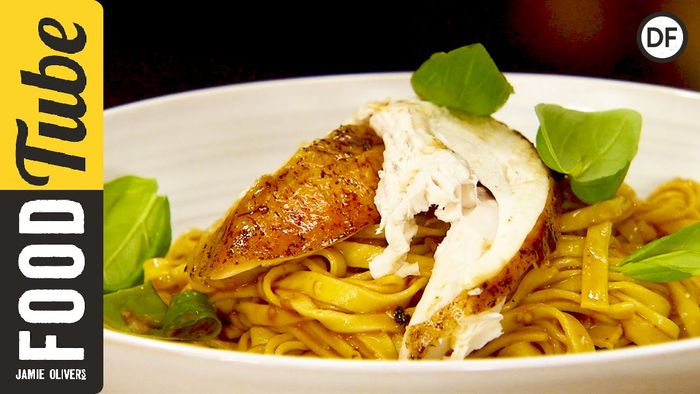 Mediterranean Roast Chicken Pasta