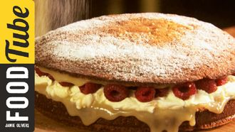 Super simple sponge cake: Jamie Oliver