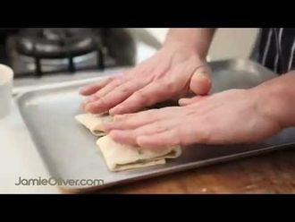 How to make filo pastry: Jamie's Food Team