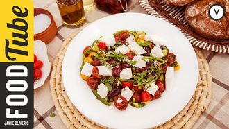How to make greek salad: Akis Petretzikis