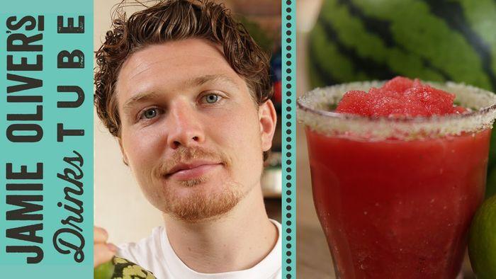 Frozen watermelon slushie: Tim Shieff