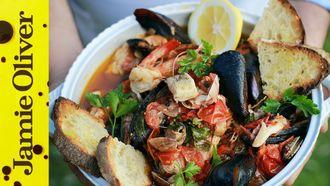 Italian fish soup: Gennaro Contaldo