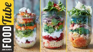 Healthy Jam Jar Salads