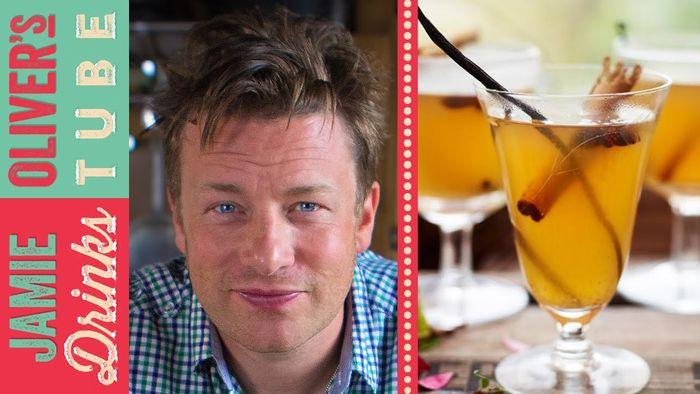 Mulled cider: Jamie Oliver