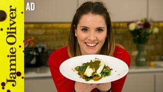Lentil tabbouleh with seabass: Katie Pix