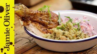 Lebanese roast chicken: Aaron Craze