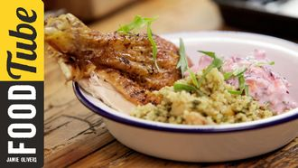 Lebanese roast chicken: Aaron Craze