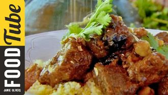Moroccan beef tagine: Jamie Oliver