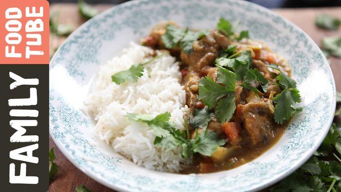 Easy chicken curry: Kerryann Dunlop