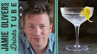 Vodka martini cocktail 4 ways: Jamie Oliver