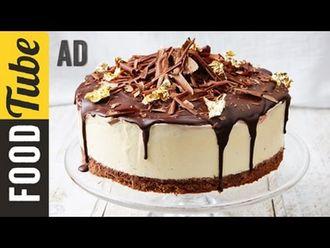 Black forest frozen cheesecake: Jamie Oliver