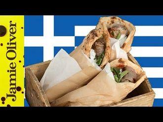 Greek souvlaki kebabs: Akis Petretzikis