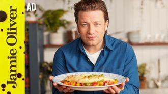 Scrambled egg omelette: Jamie Oliver