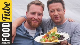 Mexican style breakfast omelette: Jamie Oliver & Food Busker