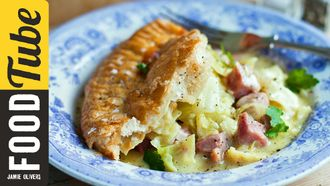 Easy bacon and cabbage pie with mustard & puff pastry: Donal Skehan