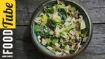 Grilled chicken caesar salad: DJ BBQ