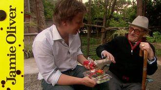 Gennaro Contaldo's father: Jamie Oliver