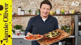 Mighty mushroom & kale frittata: Jamie Oliver