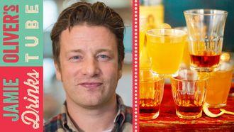 Hot rummy lemonade: Jamie Oliver & Dexter Fletcher