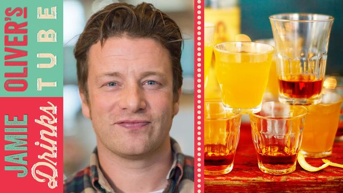 Hot rummy lemonade: Jamie Oliver & Dexter Fletcher