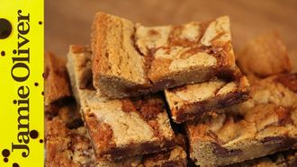 Butterscotch blondies: Claire Ptak