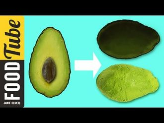 How to de-skin an avocado: Jamie Oliver