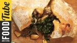Easy mushroom & spinach pizza calzone: Jamie Oliver