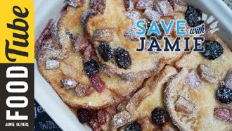 Fruity bread & butter pudding: Sorted Food