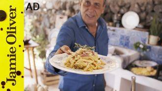 Parsnip and pancetta tagliatelle: Gennaro Contaldo