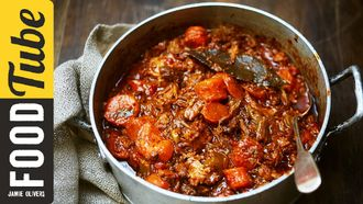 Easy slow-cooked beef stew: Jamie Oliver