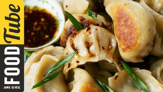 Traditional potsticker dumplings: The Dumpling Sisters
