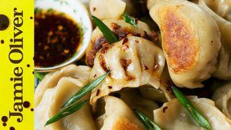 Traditional potsticker dumplings: The Dumpling Sisters