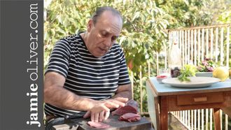 How to make beef carpaccio: Gennaro Contaldo