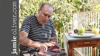 How to make beef carpaccio: Gennaro Contaldo