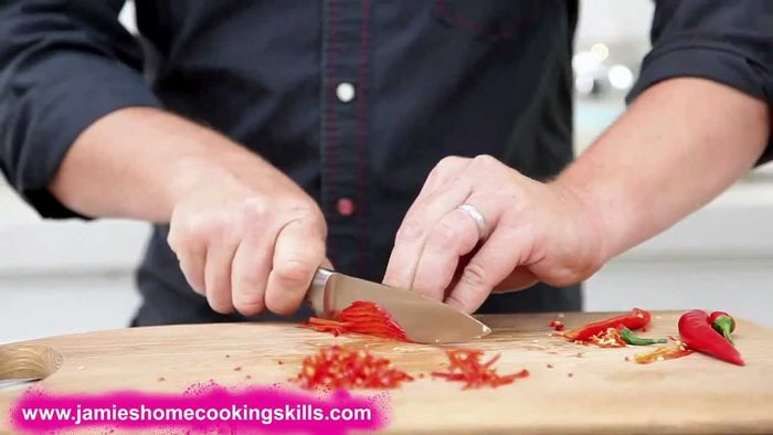 How to prepare a fresh chilli: Jamie Oliver