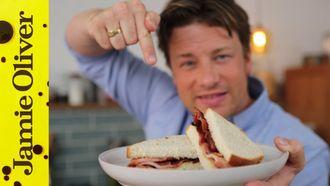 Breakfast bacon sandwich: Jamie Oliver