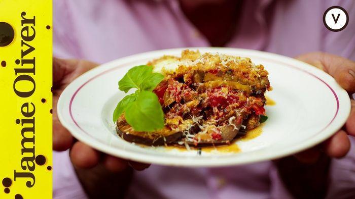 Aubergine parmigiana: Gennaro Contaldo