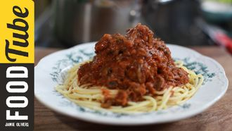 Simple spaghetti and meatballs: Kerryann Dunlop