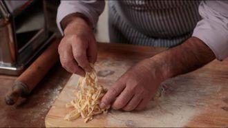 How to make tagliatelle pasta: Gennaro Contaldo