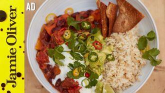 Sweet potato chilli: Jamie Oliver