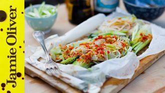 Brilliant baked mackerel: Donal Skehan
