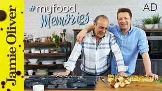 Wild garlic focaccia: Jamie Oliver & Gennaro Contaldo