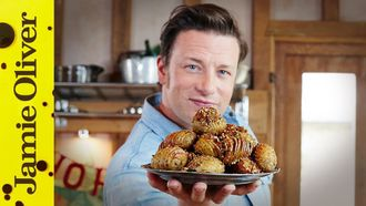 Christmas hasselback potatoes: Jamie Oliver