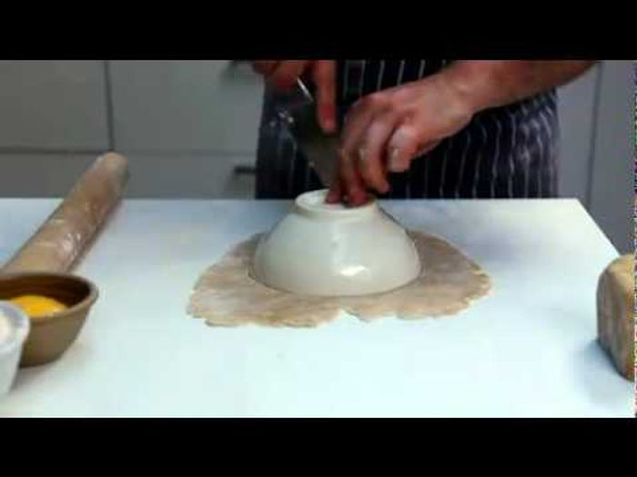 How to assemble a pasty: Jamie's Food Team