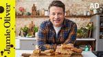 Veg stuffed focaccia: Jamie Oliver