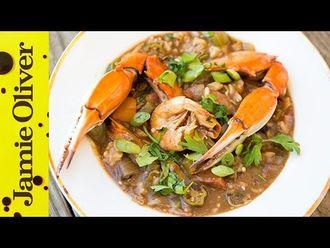 Seafood gumbo: Bart van Olphen