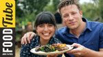 BBQ pork chops with maple rum glaze: Jamie Oliver & Felicitas