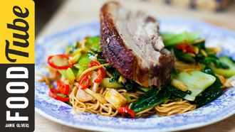 Perfect 5 spice pork belly: Donal Skehan