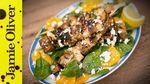 Chicken & garlic bread kebabs: KerryAnn Dunlop