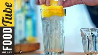 Tom Collins cocktail with a spring-time twist: Simone Caporale